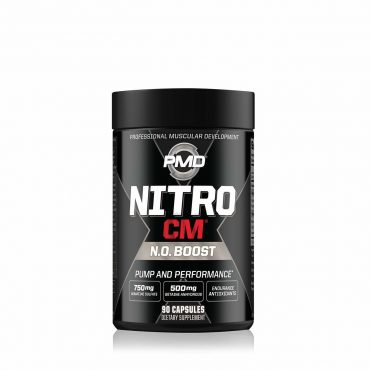 PMD Sports PLATINUM NITRO CM Elite Nitric Oxide Formula for Muscle Pumps and Performance - 90 Capsules