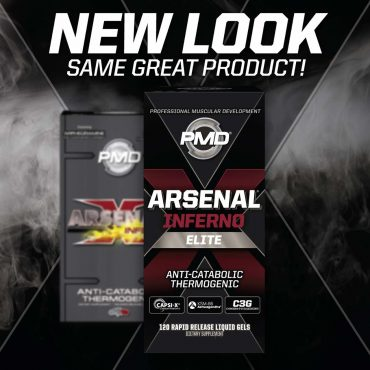 PMD ARSENAL INFERNO transition to new packaging