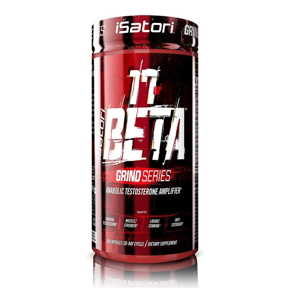 iSatori 17-BETA Testosterone Amplifier with DHEA for Muscle - 90 Capsules