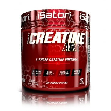 Creatine A5X 50 servings powder by iSatori